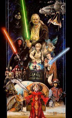 Star Wars Ep.1 by TheGeekCanPaint.deviantart.com