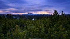 Sunset at Yellowstone by Simon Roppel on Mountains, Sunset, Landscape, Nature, Travel, Sunsets, Naturaleza, Viajes, Scenery
