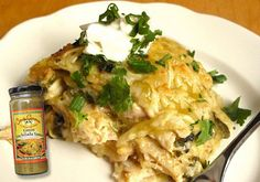 Try a shortcut!  Use our Casa Corona Green Enchilada sauce in a jar for quick Chicken Tortilla Casseroles :)