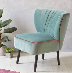 I've just found Mint Velvet Mid Century Cocktail Chair. Introducing the iconic Mint Velvet Cocktail Chair with Contrasting Blush Pink Velvet Piping.. £289.00