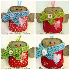 Sew Sweet Robin Babies