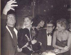 1978 - Halston,Loulou,Potassa,YSL & Nan Kempner at Studio 54