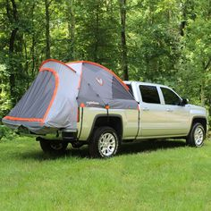 Truck Camper, Truck Tent Camping, Truck Bed Tent, Truck Flatbeds, Campsite, Camping Guide, Camping Hacks, Camping Gear, Backpack Camping