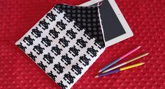 Protégez votre tablette tactile avec une housse entièrement personnalisée. Pour les tissus, mélangez les couleurs et les motifs.                            La housse de face  Le matériel ...