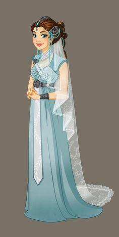 Vulcan Princess (Video Making of in description) by Katikut.deviantart.com on @deviantART