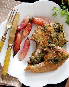 Recipe: Herbs & Mustard Breaded Lamb Chops