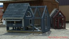 Four Pre-made Chicken Coop Options