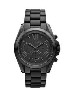 Michael Kors Womens Bradshaw Size One Size - Black #watch #matte #black