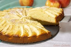 Moist and buttery cake meets fall apples in Apfelkuchen, a classic German Apple Cake that is the perfect recipe for a fall dessert. Apple Slices, Apple Pie, Apple Kuchen Recipe, German Apple Cake, Fall Desserts, Perfect Food, Baking, Recipes, Clever