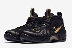 innovative design 28702 1938b Offiicial Images  Nike Air Foamposite Pro Black Metallic Gold Back in  August we received a