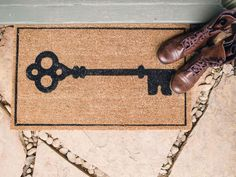 Choose a Welcoming Door Mat - 11 Budget-Friendly Ways to Boost Curb Appeal on HGTV