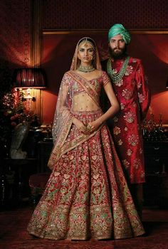 Sabyasachi - the sheer effect of the fabric