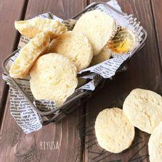 卵&バター不要!レモンヨーグルトの素朴クッキー