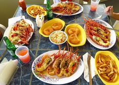 Palm Grove serves our #1 fav. grilled crayfish! Where's your go-to spot for crayfish? via @Anguilla-Beaches.com #Caribbean