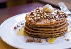 Pancakes à la patate douce »