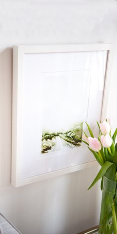 Thin frames like our Irvine Slim accentuate your art and photos and give you that sleek gallery look. No wonder our artist and photographer friends love them.