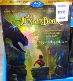 Costco Has Disney The Jungle Book Blu Ray DVD Digital HD On Sale For A Limited Time