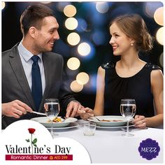 Celebrate Flavours of Love this Valentine's Day @ Mezz Romantic Dinner for Two @ AED 299 + Complimentary wine Reservations @ +971 4 501 9000 @ Ramada Chelsea Hotel Al Barsha #partyidubai #dubaihangouts #partyrock #valentinesday #romanticdinner