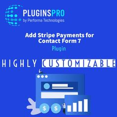 This plugin allows payment through Stripe from Contact Form 7 at WordPress. It's highly customizable, it can show input boxes for price, quantity, description, Stripe text fields, besides many different types of currency. #Plugins #Stripe #Payments #PaymentGateway #ContactForm7 #WordPress #Developer #Dev #eCommerce #NewSoftware #Code #Coding #Scripts Contact Form, Scripts, Ecommerce, Fields, Wordpress, Boxes, Coding, Ads, Technology
