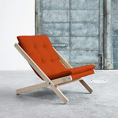 Reclining Chair - foldable - by Karup designed in Denmark #MONOQI