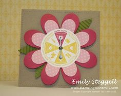 Mother's Day Spinner Card