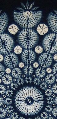 Indigo Dip Dye Patterns >>