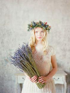 Lavender wedding flowers | Ksenia Milushkina Photography | see more on: http://burnettsboards.com/2014/07/editorial-beautiful-trends-floral-design/