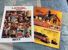 Original 1977'LIONEL TOY TRAINS catalog Excellent O/O27 +brochure #Lionel