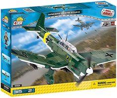 COBI SMALL ARMY WWII - 5521 - JUNKERS JU 87B STUKA
