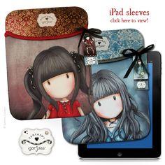 Gorjuss iPad Sleeve, New Product from Santoro