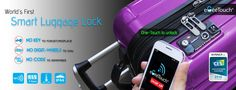 EgeeTouch Smart Luggage Locks - eGeeTouch Innovative Smart Electronic Locks