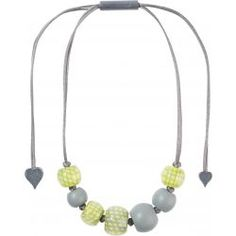 City Beads Green Necklace