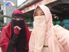 Face Veil, Hijab Niqab, Muslim, Friendship, Lady, Model, Beautiful, Beauty, Fashion