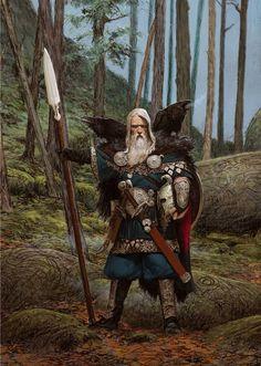 Odin by Adrian Smith