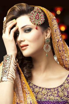 Anum Yazdani Bridal Jewellery Collection 2013 For Women | FashionInStep.Com