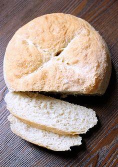 5 Ingredient No-Knead Bread