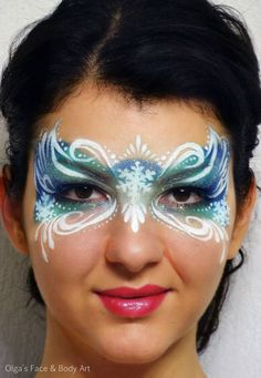 olga meleca mask | the Face Painting School
