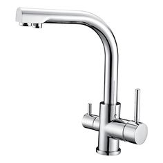 Xueqin Chrome Drinking Water Filter Faucet Finish Reverse Osmosis Sink Kitchen  Faucet Approx 220mm X 56mm | Kitchen Fixtures | Pinterest | Faucets, ...