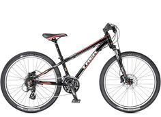 Sport Kids: Superfly 24 Disc. Trek Kids' mountain bikes are the real deal, with light frames, knobby tires, quality parts, durable construction, and Dialed adjustable components that can grow with young riders.