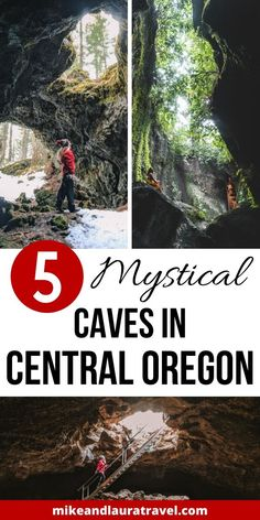 5 incredible caves to explore in Central Oregon. Plan the best day trips from Bend, Oregon to these caves; the best things to do in Bend, Oregon. Us Travel Destinations, Family Vacation Destinations, Family Vacations, Oregon Road Trip, Us Road Trip, Oregon Vacation, Central Oregon, Portland Oregon, Travel Portland