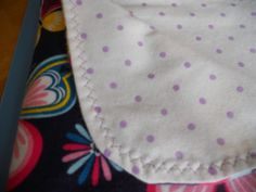 Butterfly baby blanket of bright colors and purple dots.Cozy and cute baby and toddler receiving blanket. by MissyCraftsandGoods on Etsy
