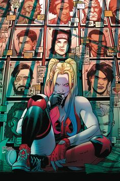 Suicide Squad With the chaos of Task Force Xs first mission behind her, Dr. Harleen Quinzel launches a psychological investigation into the curren Robin Starfire, Harley Quinn Drawing, Joker And Harley Quinn, Dragon Comic, Arte Dc Comics, Batman Universe, Dc Universe, Deadshot, Dc Comics Characters