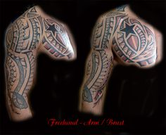 #Freehand #tattoo #rosenheim #chris #forlifecolor #tattoostudio #bayern #maori #blackandgrey #ink #freehand #finish #ink #like #instattattoo