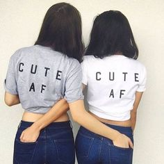 Cute AF Best Friend Shirt!