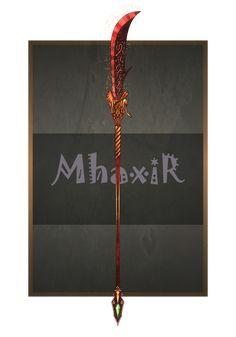 Anime Weapons, Fantasy Weapons, Fantasy Warrior, Fantasy Images, Dark Fantasy Art, Saints Vs, Armas Ninja, Swords And Daggers, Magical Jewelry