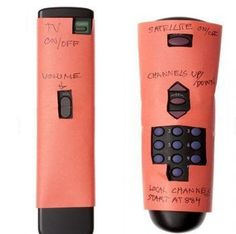 Big Button Remote for seniors, grandma, elderly
