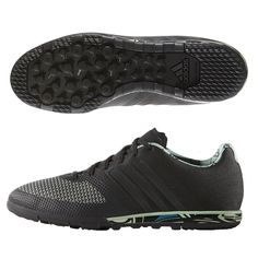 Featuring a tougher material, and dark colors, these Cage soccer shoes are perfect for turf fields. With great control, the ACE turf shoes feature a Brooklyn inspired design. Order your new pair of turf soccer shoes today at SoccerCorner.com!  http://www.soccercorner.com/Adidas-ACE-15-1-City-Pack-CG-Turf-Soccer-Shoe-p/st-ads77880.htm