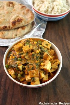 Mattar Paneer,the ever popular dish in Indian restaurants gets a healthy make over by replacing paneer with tofu. I also included some baby spinach which blended well with the spices. Makes for a quick nutritious meal. Serve over rice or Indian flatbread.  If interested check out my other Tofu recipe-  Tofu … … Continue reading →