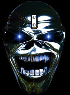 Chrome Eddie. #eddie #ironmaiden #music http://www.pinterest.com/TheHitman14/eddie-of-iron-maiden-fame/