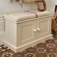 Buy hall furniture online including hall tables and hall storage beautifully made and available at the Ideal Home Show Shop. Hall Bench With Storage, Storage Bench Seating, Built In Bench, Built In Storage, Shoe Storage, Hallway Seating, Hallway Bench, Hallway Ideas, Hall Furniture